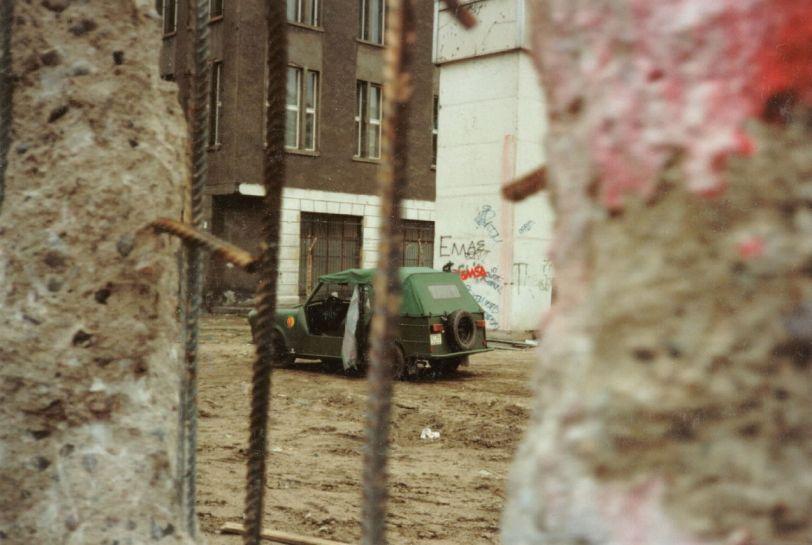 through the berlin wall